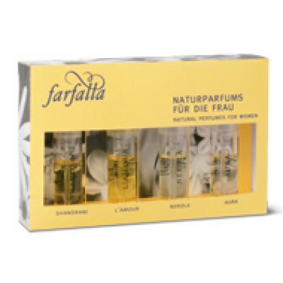 Farfalla Natural Perfume Trial Set